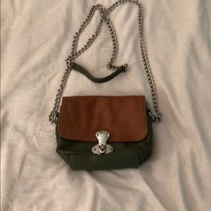 Handbags - Franchi Two Tone Crossbody
